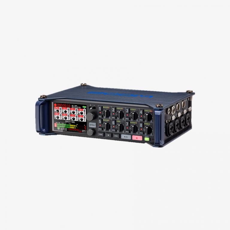 Kiralık Zoom F8 Multi Track Kayıtçı