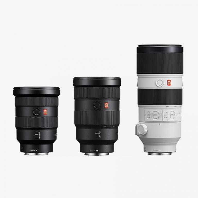 Kiralık Sony 3'lü Lens Seti