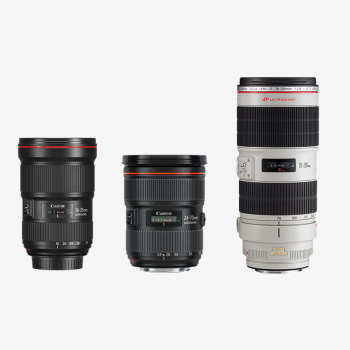 Kiralık Canon 3'lü Lens Seti