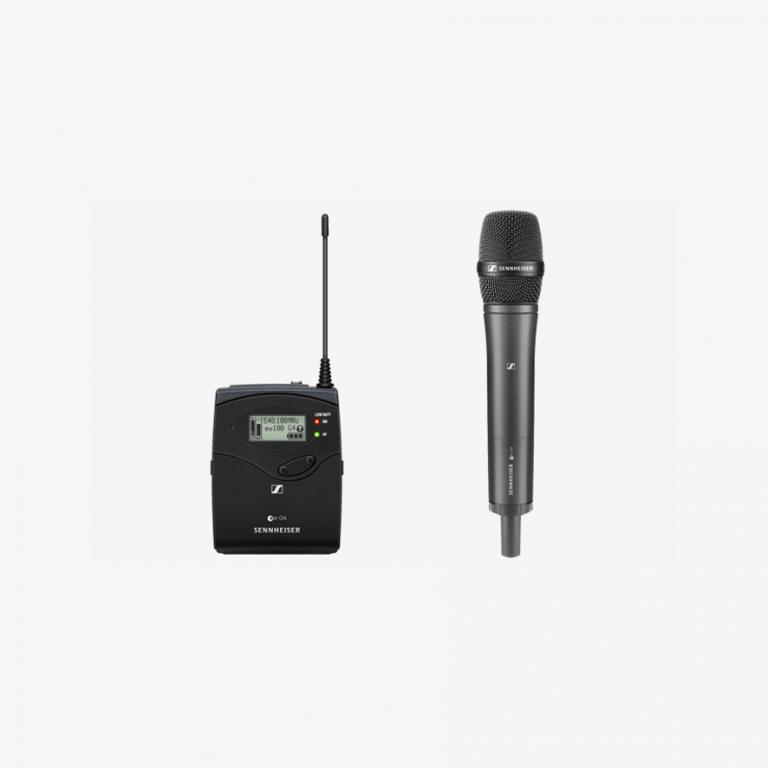 Kiralık Sennheiser G4 Kablosuz El Mikrofonu