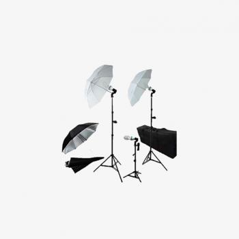 Kiralık Stüdyo 3'lü Led Işık Seti