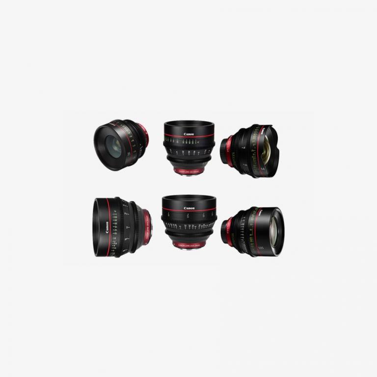 Kiralık Canon Cine Prime Lens Seti