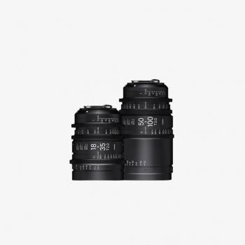 Kiralık Sigma Cine Zoom Lens Seti (EF)